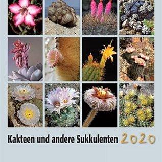 Cacti and Succulents Calendar 2020