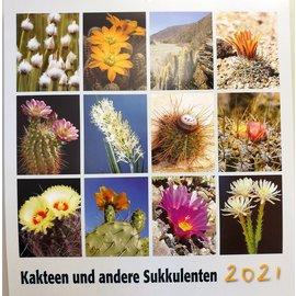 Kakteen und andere Sukkulenten - KuaS Kalender 2021