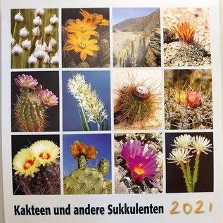 Kakteen und andere Sukkulenten Kalender 2021 - KuaS Kalender