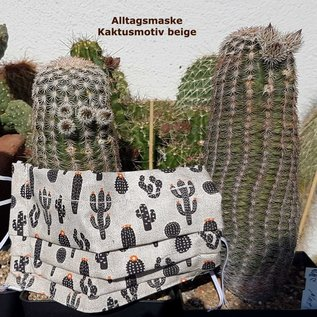 Face mask for cactus lovers