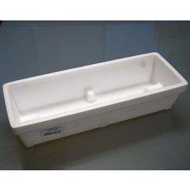 Styrofoam seed boxes