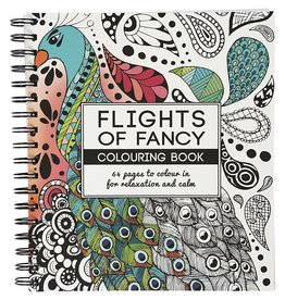 "Kleurboek ""Flights of Fancy"""