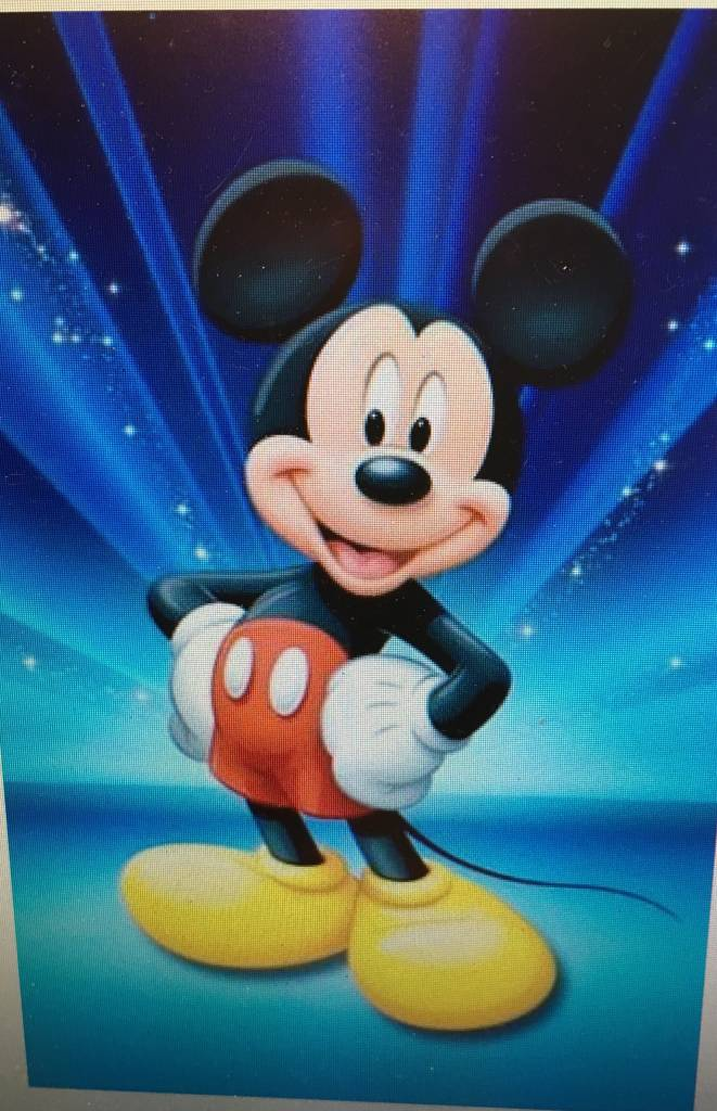 Diamant mozaïek Mickey trots