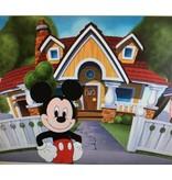 Diamant mozaïek Mickey en zijn huis