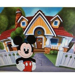 Diamond Painting Mickey en zijn huis