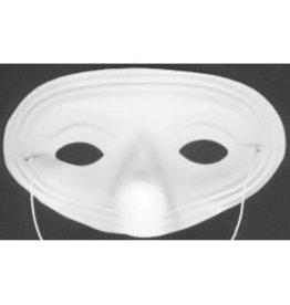 Masker wit half