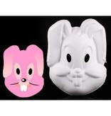 Masker papier Bunny
