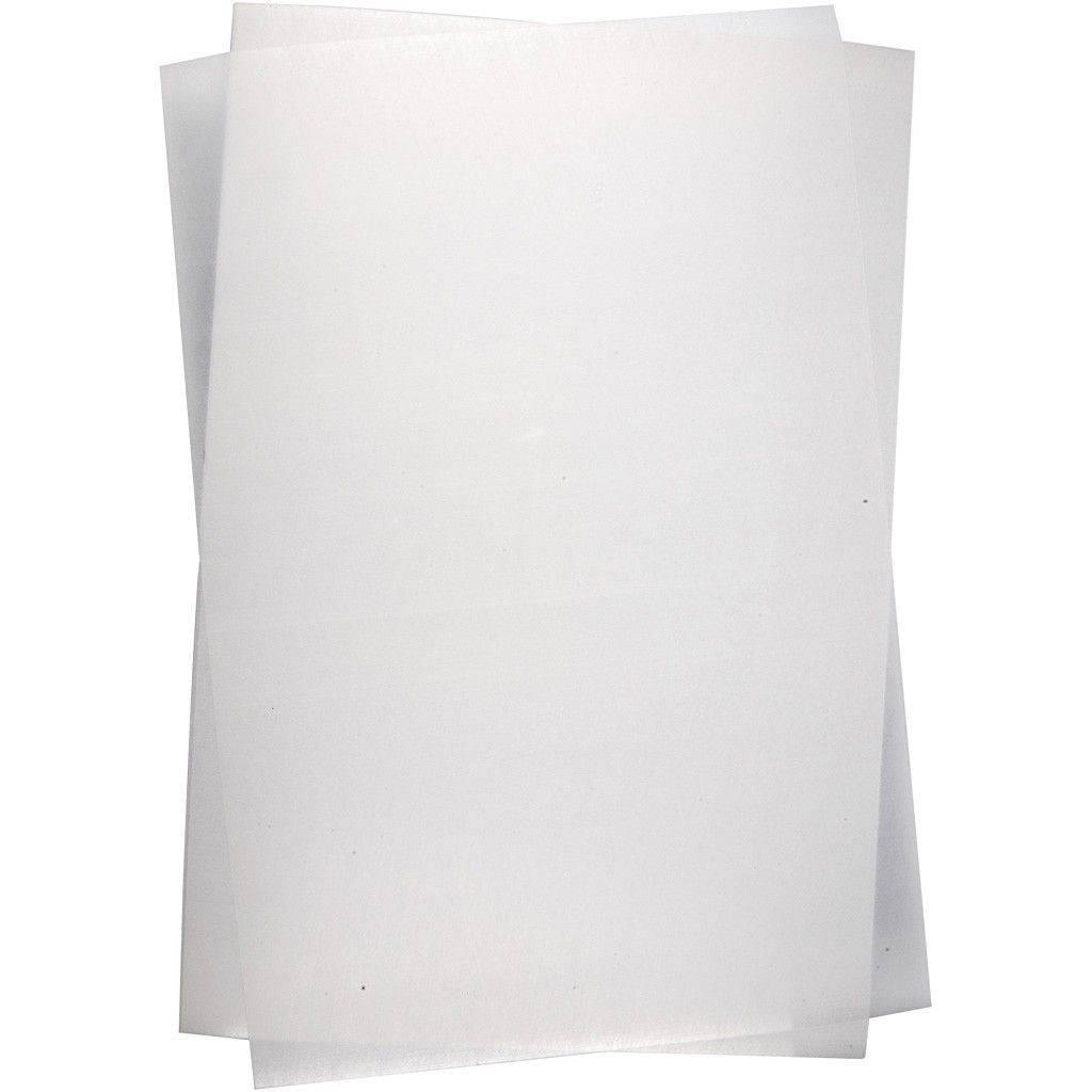 Krimpfolie blanco mat