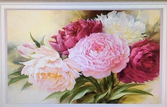 Diamond Painting  bloemen boeket