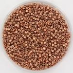 Miyuki delica 11/0 plated copper DB40
