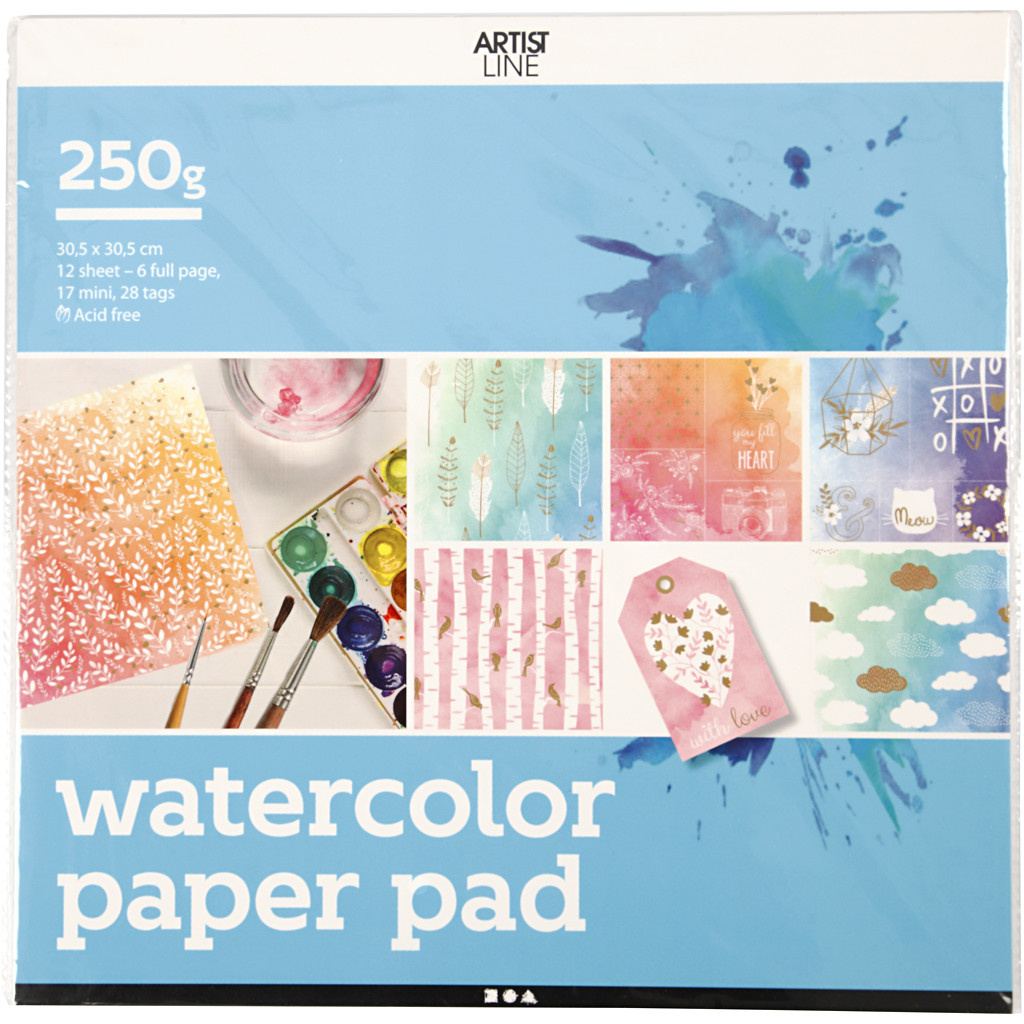 Kleurboek Aquarel papier