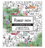 "Kleurboek ""The Forest Path"""