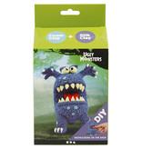 Funny Friends Blauw Monster