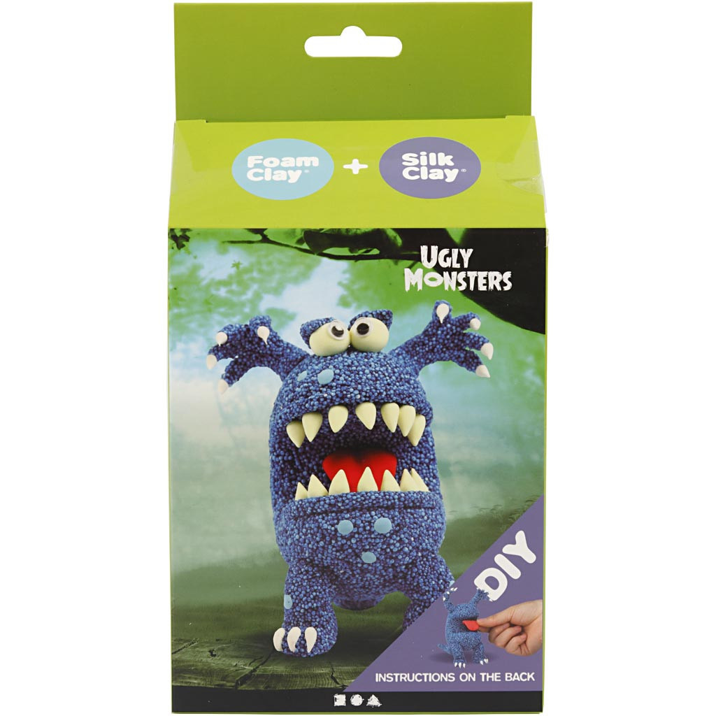 Funny Friends Blauw Monster