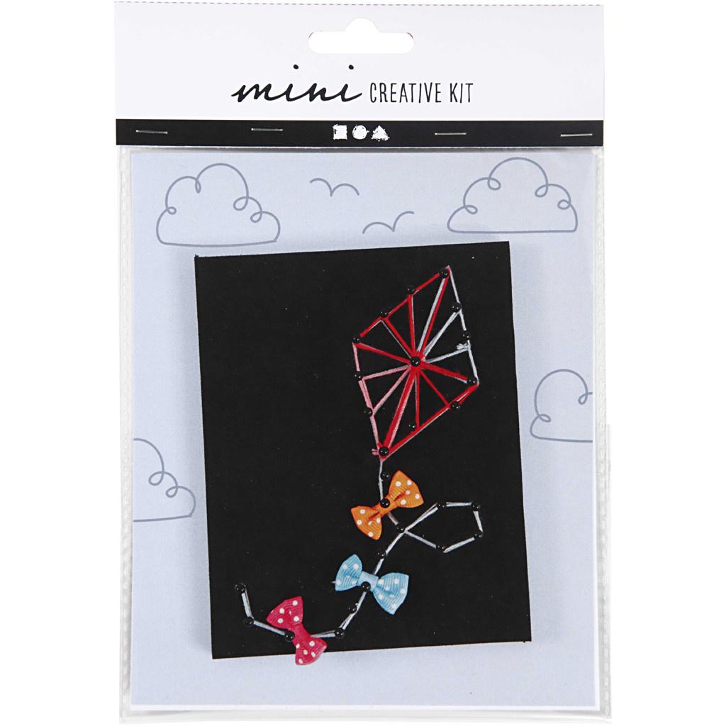 Mini Creative Kit String Art Vlieger