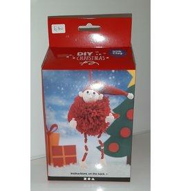 DIY Silk Clay Kerst Funny Friends Elf rood