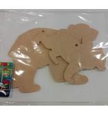 MDF Ijsberen