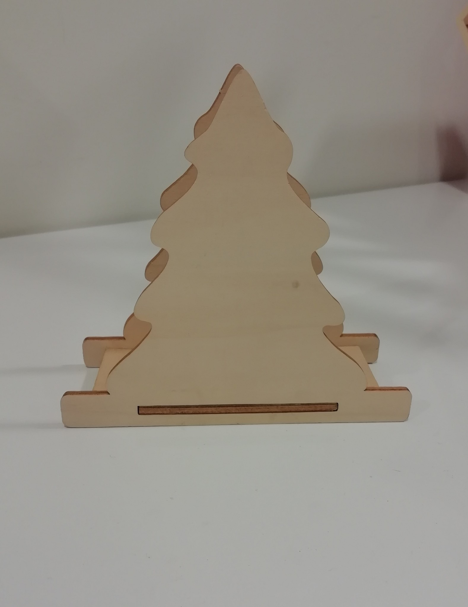 Houten Kerstboom pakketje