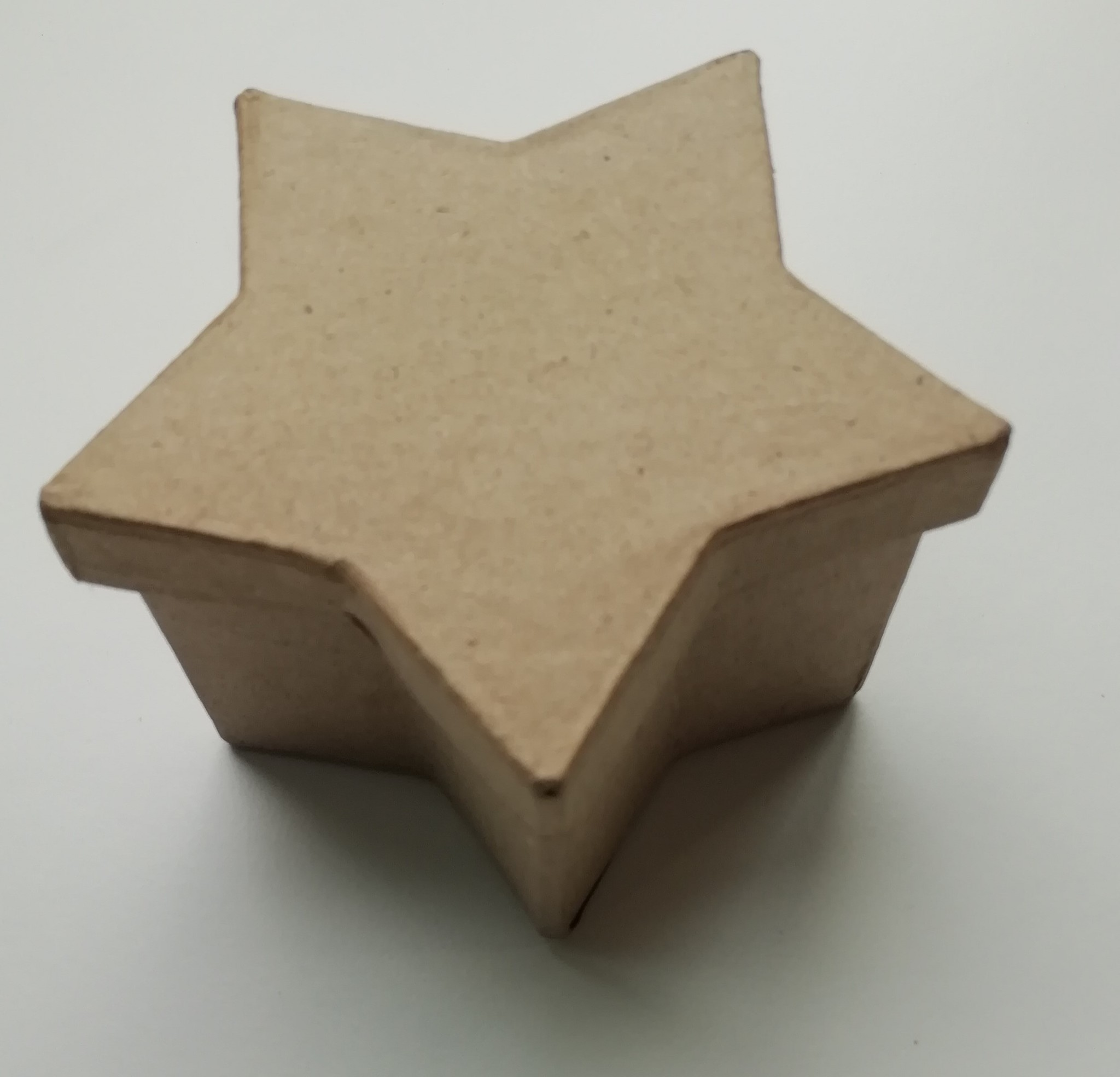 Ster doosje papier-maché
