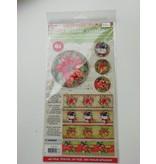 Kerstbal krimpfolie knutselpakket