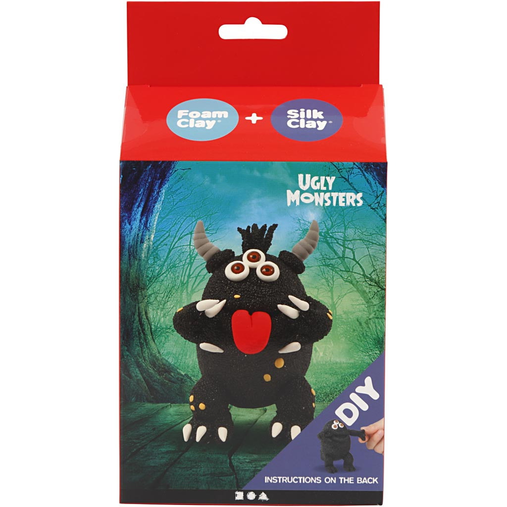 Funny Friends Monster Zwart