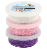 Foam Clay Glitter Mettalic set