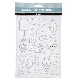 Magneten kleuren : Zomer