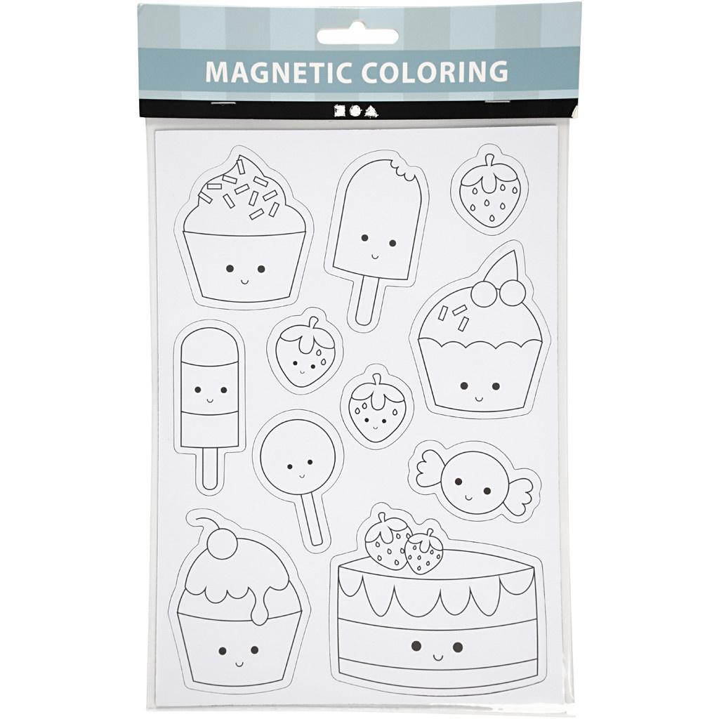 Magneten kleuren: Snoepgoed