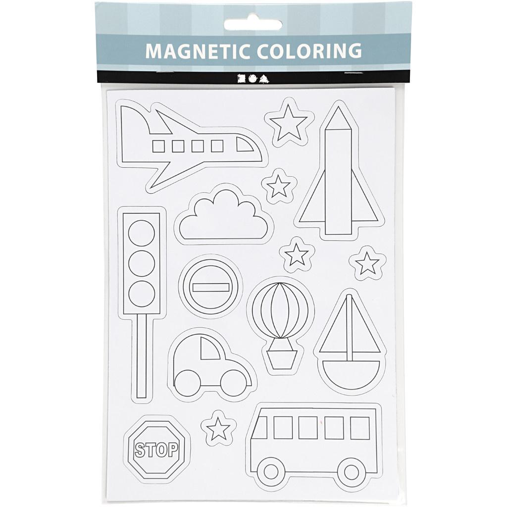 Magneten kleuren: Voertuigen
