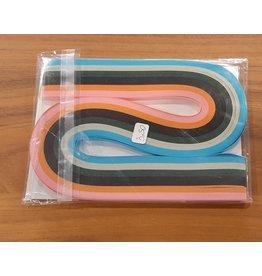 Quilling stroken - 5mm - Multicolor