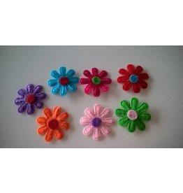 Vilten bloemetjes