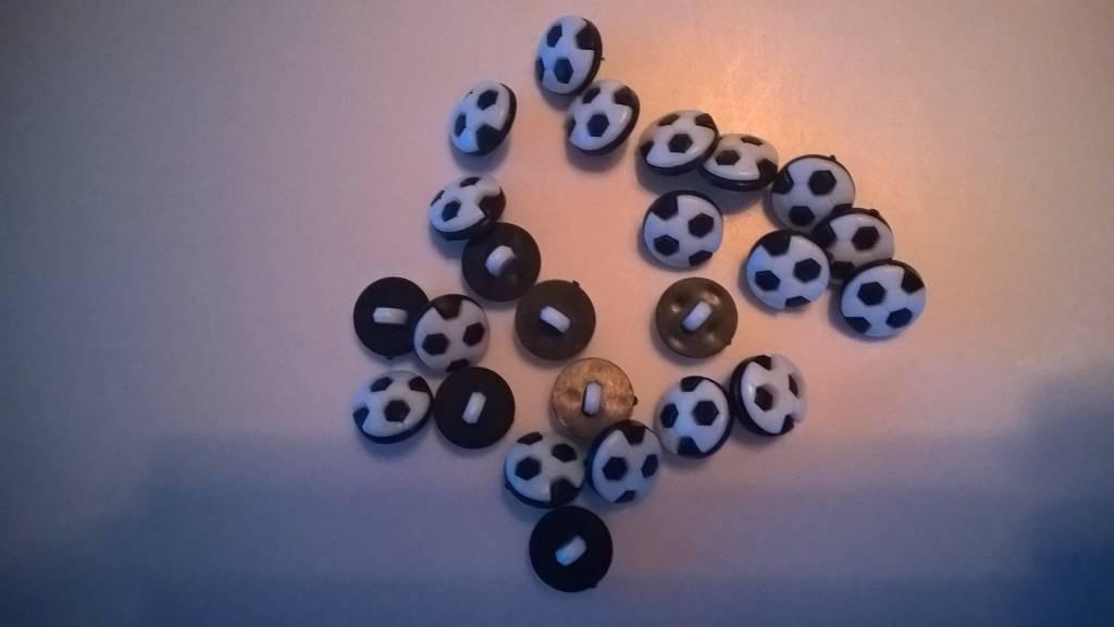 Plastiek knoopjes voetbal