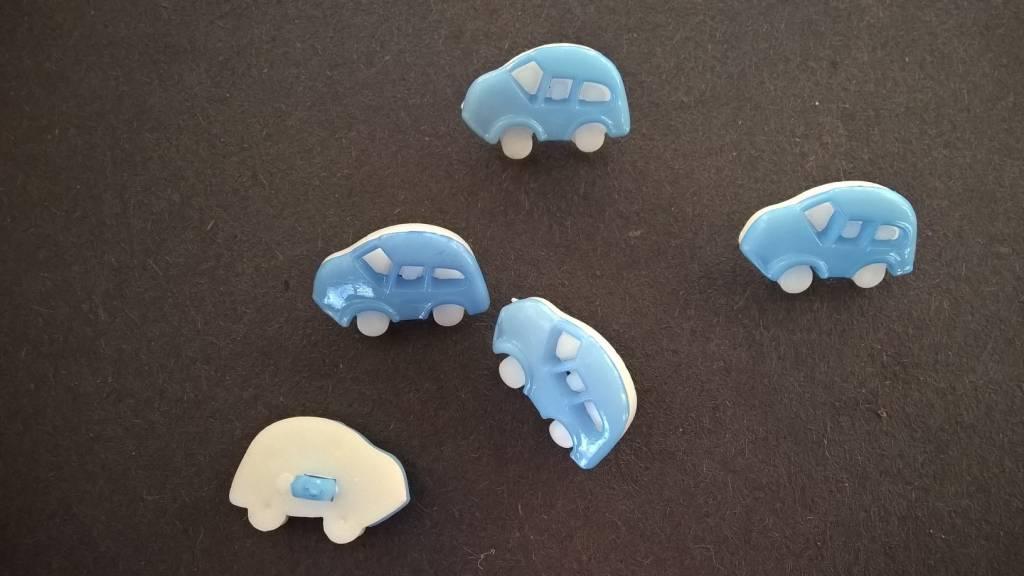 Plastiek knoopjes auto