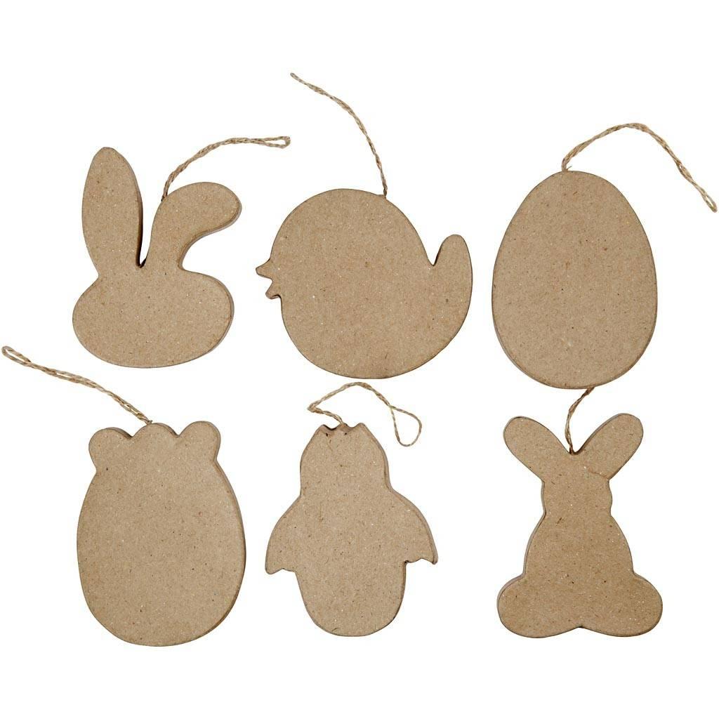 Paasfiguren papier-maché