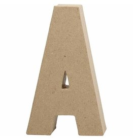 Letter papier-mâché groot