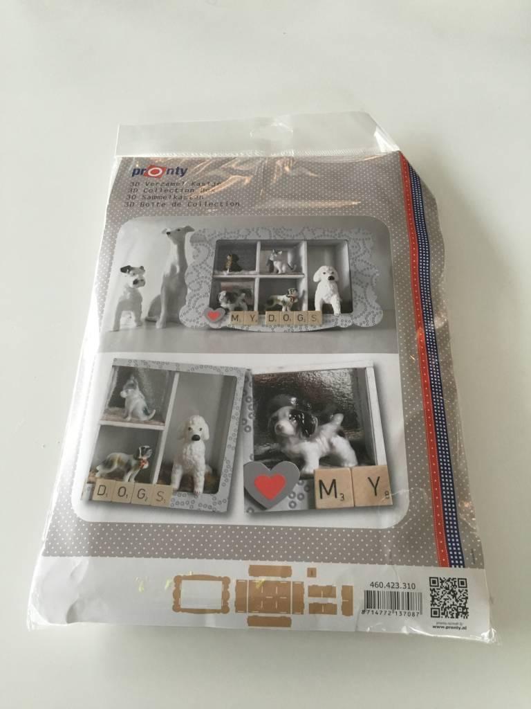 Knutselpakket 3D-verzamel kastje