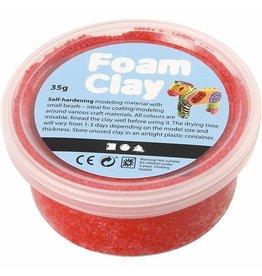 Foam clay doosje 35g rood