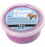 Foam clay doosje 35g paars