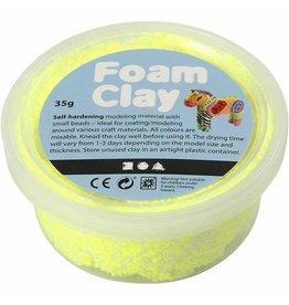 Foam clay doosje 35g fluo