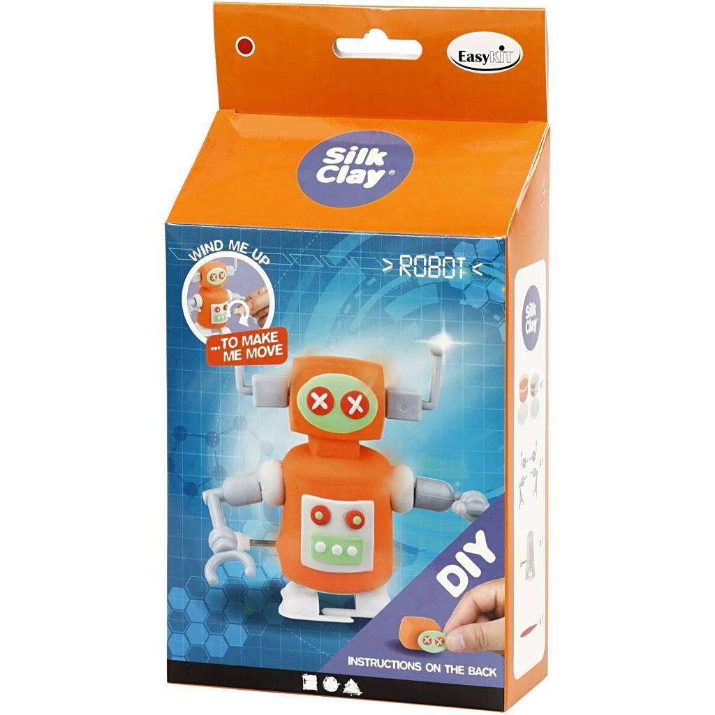 Funny robot oranje