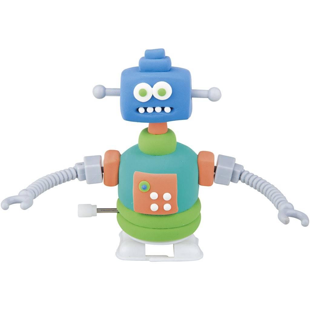 Funny robot blauw