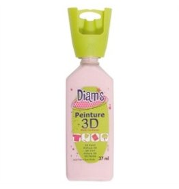 3D verfbusje roze