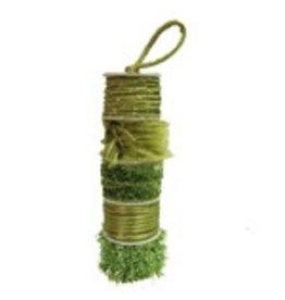 Assortiment draad olijfgroen