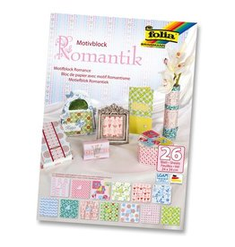 Pak van 26 bladen Romantiek
