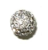 Shamballa kraal zilver
