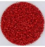 Miyuki delica 11/0 opaque red DB732