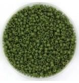 Miyuki delica 11/0 opaque avocado DB1135