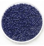 Miyuki delica 11/0 metallic matte royal blue DB377
