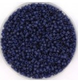 Miyuki delica 11/0 opaque matte dyed navy