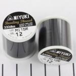Miyuki beading draad zwart